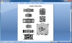 DocxFactory Barcode Screenshot 1